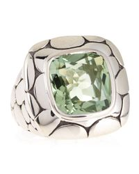 John Hardy | Kali Batu Green Amethyst Ring | Lyst