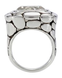 John Hardy | Metallic White Topaz Kali Ring | Lyst