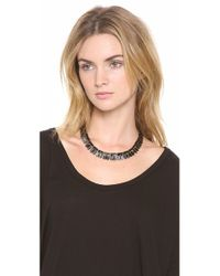 Lulu Frost - Black Wavelength Necklace - Lyst