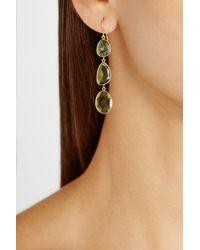 Pippa Small - Green 18karat Gold Tourmaline Earrings - Lyst