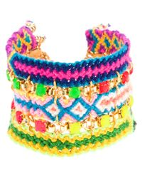 Chanael K - Multicolor Joy Friendship Cuff - Lyst