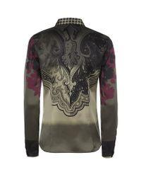 Etro - Green Degrade Paisley Shirt - Lyst