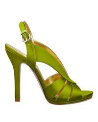 Nine West - Green Loela Sandal - Lyst