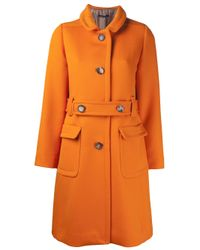 Sofie D'Hoore - Orange Cherbourg Coat - Lyst