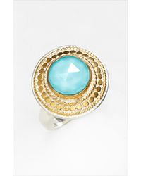 Anna Beck | Metallic Gili Wire Rimmed Stone Ring | Lyst
