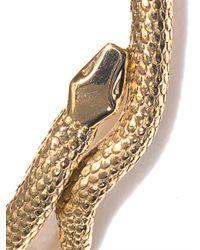 Aurelie Bidermann | Metallic Gold Articulated Snake Necklace | Lyst