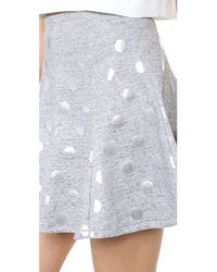 Elizabeth and James - Gray Camila Skirt - Lyst
