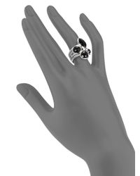 Ippolita - Metallic Black Onyx and Sterling Silver Ring - Lyst