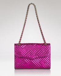 Rebecca Minkoff | Purple Shoulder Bag Affair | Lyst