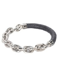 Vivienne Westwood - Black Pete Metal Bracelet for Men - Lyst