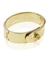 Mulberry | Metallic Bayswater Bracelet | Lyst