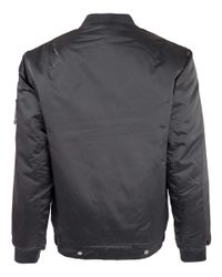 Our Legacy | Silver Nylon Bomber Jacket for Men | Lyst