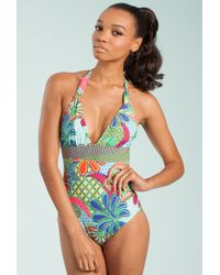Trina Turk | Multicolor Zanzibar One Piece | Lyst