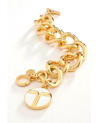 Trina Turk | Metallic Super T Bracelet | Lyst