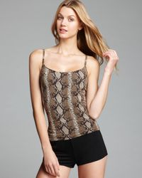 Yummie By Heather Thomson - Brown Camisole Sheer and Smooth Julia Shaping - Lyst