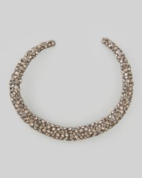 Alexis Bittar | Metallic Nova Crystal Hinge Collar Necklace | Lyst