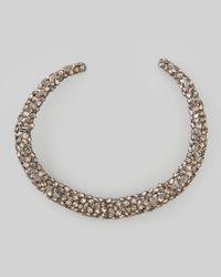Alexis Bittar | Metallic Nova Crystal Hinge Collar Necklace | Lyst