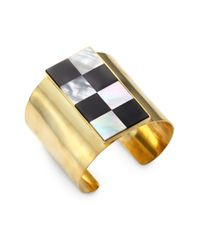 Kelly Wearstler | Metallic Vaso Onyx Shell Cuff Bracelet | Lyst