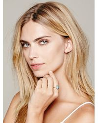 Free People - Blue Claw Stacker Ring - Lyst
