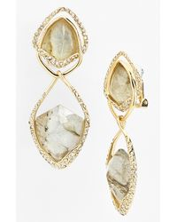 Alexis Bittar | Metallic Miss Havisham Clip Drop Earrings | Lyst