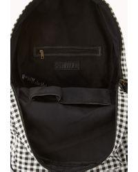 Forever 21 - Black Sweet Gingham Backpack - Lyst