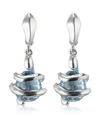 Links of London | Metallic Entwine Stiletto Earrings | Lyst