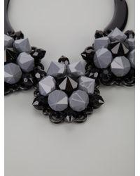 Marina Fossati | Black Flower Necklace | Lyst