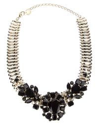 Marina Fossati | Metallic Chain Flower Necklace | Lyst