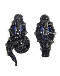 Arunashi - Blue Snake Earring - Lyst