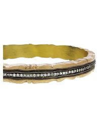 Nak Armstrong - Metallic Scalloped Bangle - Lyst