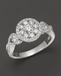 Roberto Coin | 18k White Gold Diamond Ring | Lyst