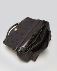 Tory Burch - Black Shoulder Bag Marion Quilted Small - Lyst