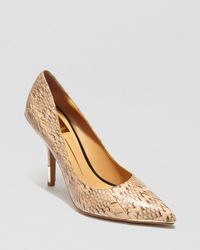 Dolce Vita | Brown Pointed Toe Pumps Yani High Heel | Lyst