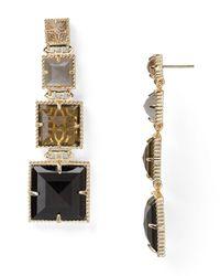 Kendra Scott - Black Serena Earrings - Lyst