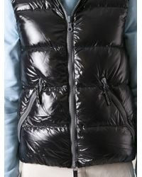 Duvetica | Black Padded Gilet for Men | Lyst
