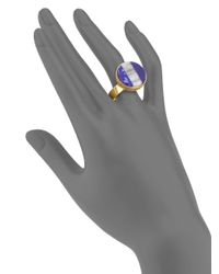 Kelly Wearstler | Purple Marco Lapis Agate Ring | Lyst