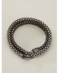 Laura B - Metallic Bead Chain Bracelet - Lyst