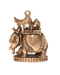 Annina Vogel - Metallic 9ct Gold Vintage Elephant Charm - Lyst