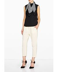 By Malene Birger | Black Pinao Scarf | Lyst