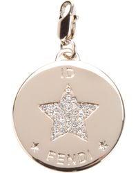 Fendi | Metallic Star Identity Pendant | Lyst