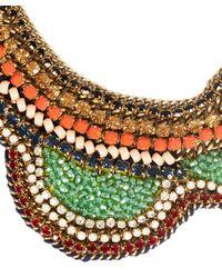 Sveva Collection - Multicolor Multicolour Iride Crystal Necklace - Lyst