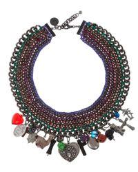 Venessa Arizaga   Multicolor 'candy Says' Necklace   Lyst