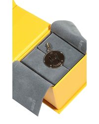 Fendi | Metallic Charming Letter H | Lyst
