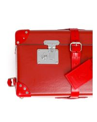 "Globe-Trotter - Red Limited Edition X+q Art 33"" Wheeled Suitcase - Lyst"
