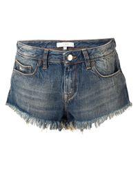 IRO | Blue Modena Denim Shorts | Lyst