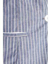 ModCloth - Black Junior Board Blazer in Stripes - Lyst