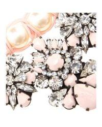 Shourouk | Metallic Marisa Virgin Embellished Necklace | Lyst