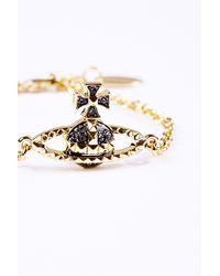 Vivienne Westwood | Metallic Mayfair Bas Relief Bracelet | Lyst