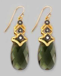 Alexis Bittar | Elements Lacecap Green Quartz Earrings | Lyst