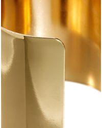 ASOS - Metallic Cuff Bracelets Ring - Lyst